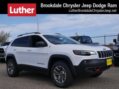 New 2020 JEEP Cherokee Trailhawk With Navigation