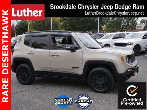 Certified Pre-Owned 2017 Jeep Renegade Deserthawk